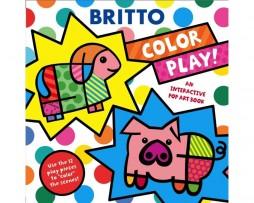 Color Play!- An interactive Pop Art Book by Romero Britto