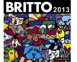 Romero Britto 2013 Wall Calendar
