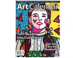 Romero Britto Art Calendar Magazine