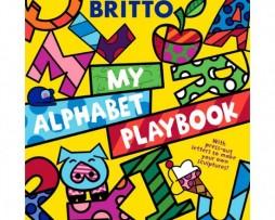 Romero Britto my alphabet playbook