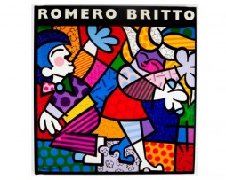 The Art of Romero Britto Book By Aaron Young and Joel Taffet