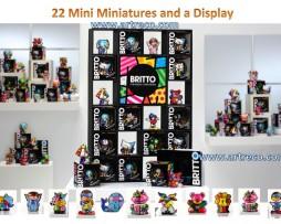 Britto Mini Figurines