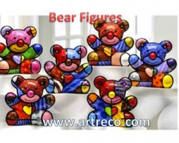 Britto Bear Figurines