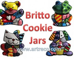 Britto Cookie Jars