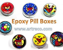 Britto Epoxy Pill Boxes