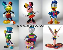 Britto Disney Figurines
