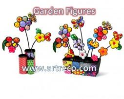 Britto Garden Figures