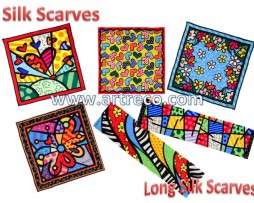 Britto Silk Scarves