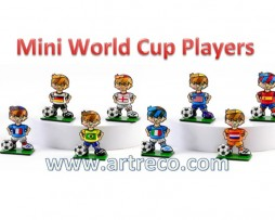 Britto Mini World Cup players