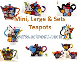 Mini & Large Teapots & Tea set