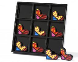 Romero Britto Tic-Tac-Toe Games