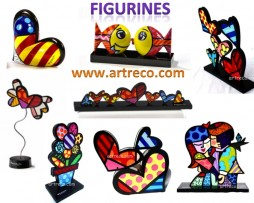 Britto Art Figurines