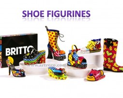 Britto Shoe Figurines