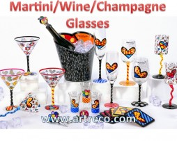 Martini/Wine/Champagne Glasses