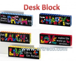Britto Sentiment Desk Block