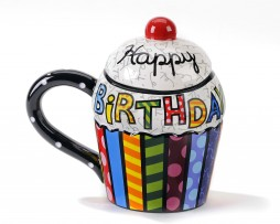 Happy Birthday Cupcake Mug