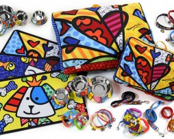 Britto Pet Bowls,Leashes,Collars