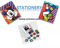Britto Disney Stationery