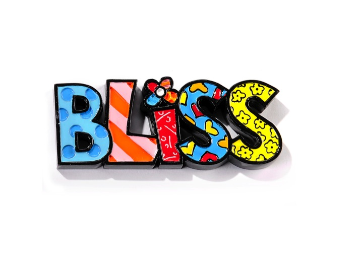 Mini Polyresin Word Bliss Artreco