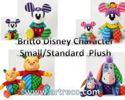 Britto Disney Small & Standard Plush