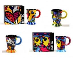 Romero Britto Mugs 14 oz