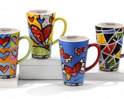 Hearts & Pattern Mugs
