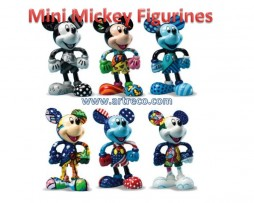 Mini Mickey Figurines