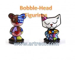 Britto Bobble-Head Figurines