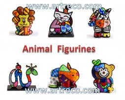 Britto Animal Figurines