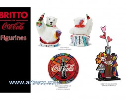 Britto Coca-Cola Figurines