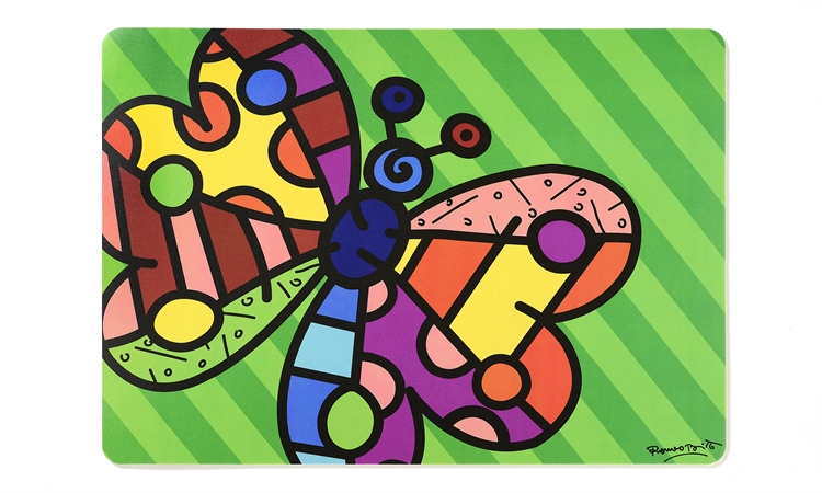 Britto Placemat Butterfly Artreco