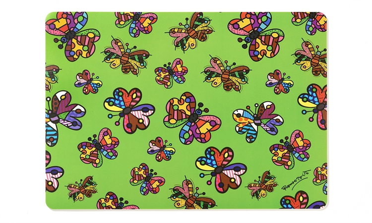 Britto Placemat Miniature Butterflies Artreco