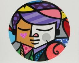 Romero Britto Eros Serigraph