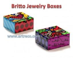 Britto Jewelry Boxes