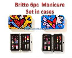 Britto Manicure Set in Cases