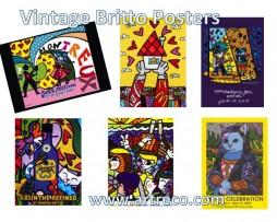 Vintage Romero Britto Posters