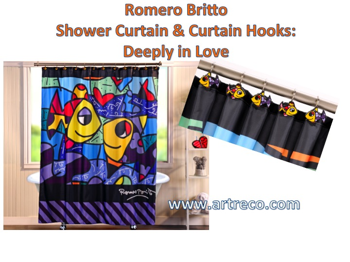 Britto Deeply In Love Shower Curtain Hooks