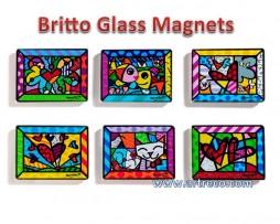 Britto Glass Magnets