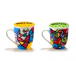 Britto Infuser mugs w/ lid