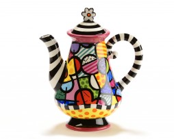 Britto Large Teapot -  Flowers