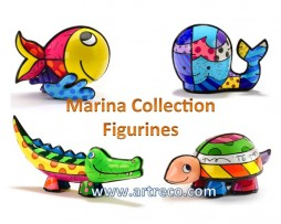 Britto Marina Collection Figurines