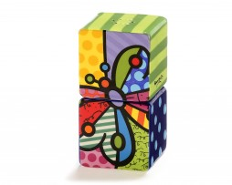 Britto Stacking Salt & Pepper Shakers, 2:set - Butterfly