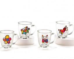 Britto Glass Mugs