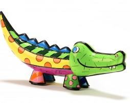 Romero Britto Marina Collection Figurine - Crocodile