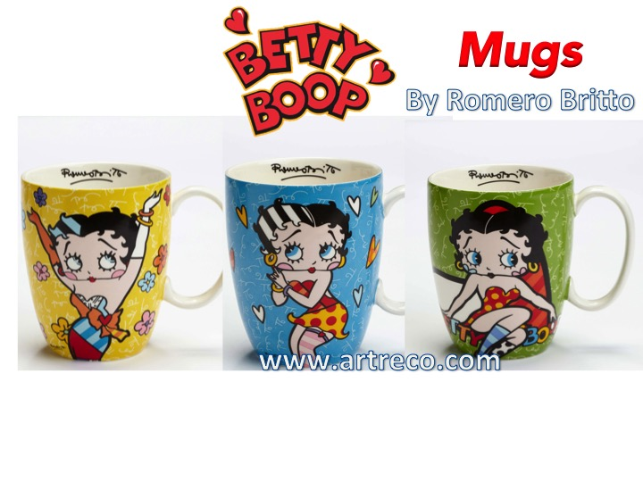 Betty Boop Mugs by Britto Archives - Artreco