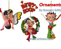 Betty Boop Ornaments by Britto