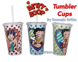 Betty Boop Tumbler Cups by Britto