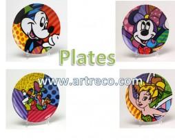 Britto Disney Plates