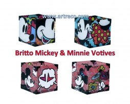 Britto Mickey & Minnie Votives