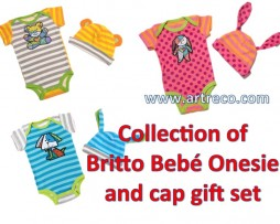 Bebé Onesie & Cap set